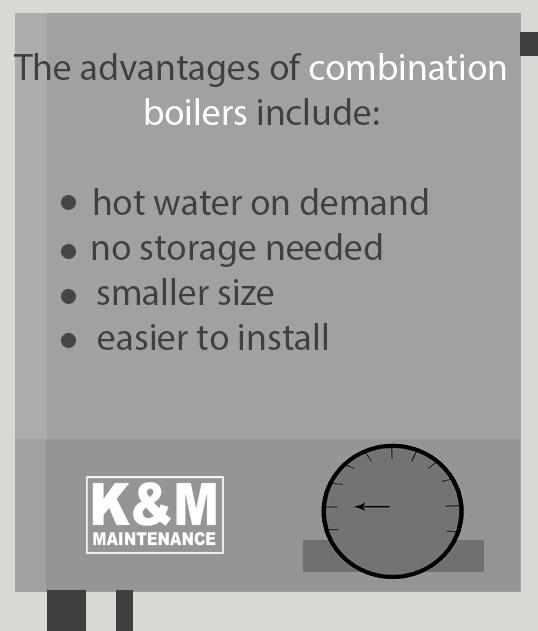 advantages of combination boilers