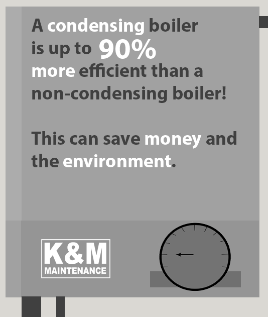 advantages of condensing boilers