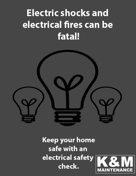 electric shocks and fire risks in the home